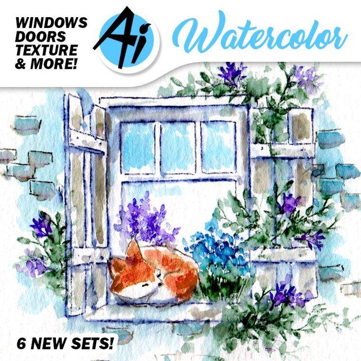 Watercolor Release Week 2! Six More WC Sets! Challenge 217 Watercolor Wonders!