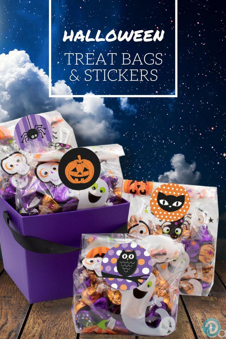 Best 25+ Halloween treat bags ideas only on Pinterest | Halloween ...