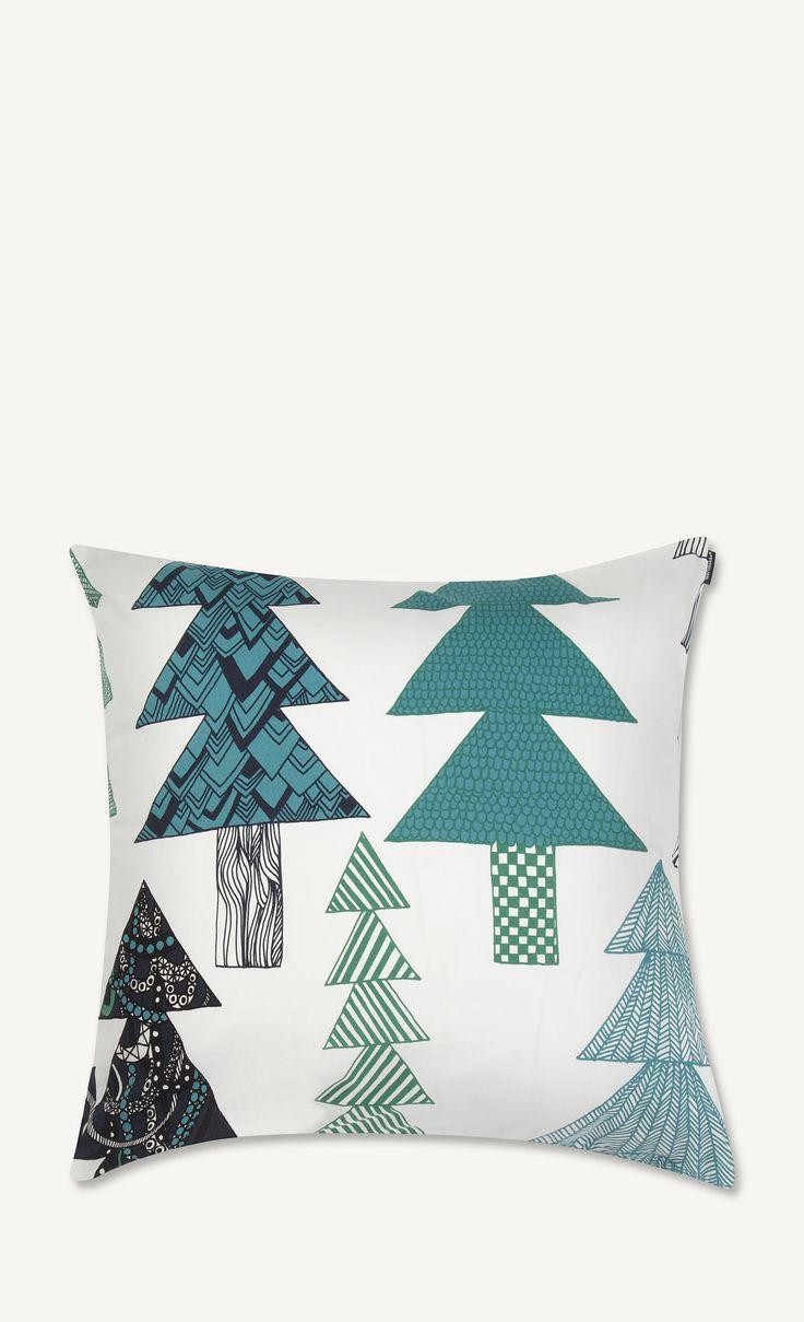 Kuusikossa pillow cover by Marimekko