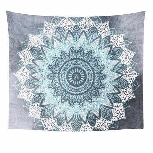 Bohemian Mandala Tapestry ~Moroccan Print Wall Tapestries ~150X150Cm