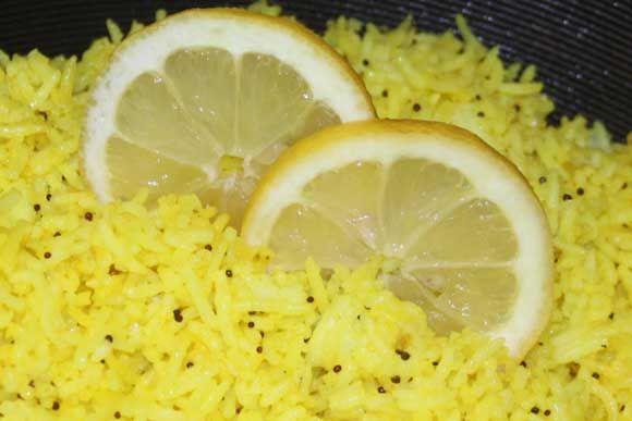 Lemon Rice - Delicious Ayurvedic Online Recipe