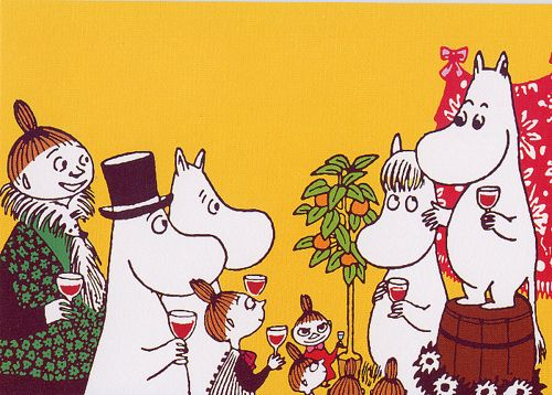 The people who keep houses warm and bellies full should be celebrated as heroes. | 50 Lessons That Moomins Can Teach You About Life
