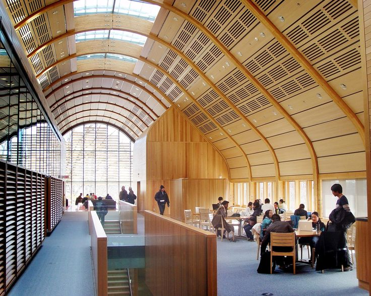 Yale Kroon Hall Rulon Acoustical Wood Walls And Ceilings