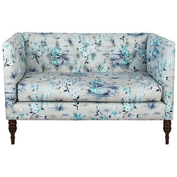 17 best ideas about teal couch on pinterest interior for Cameron tufted chaise peacock