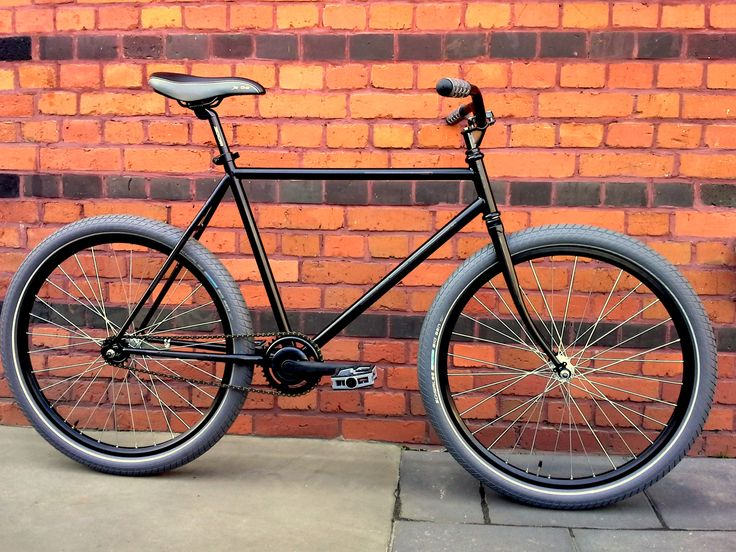 Sprick MTB - converted to modern urban bike