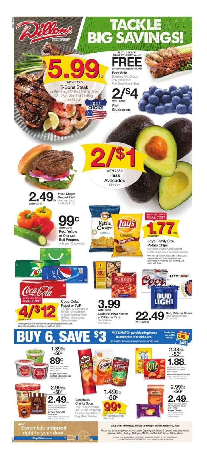 Dillons weekly ad january 30 february 5 2019 in wichita