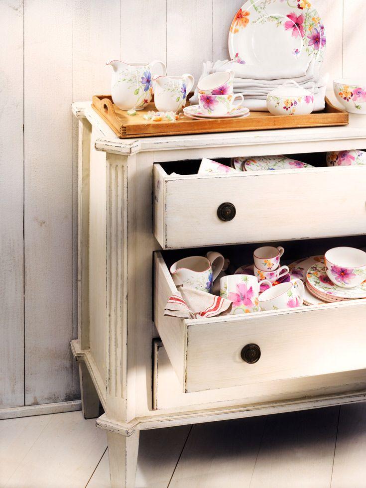 BRANDS:   Villeroy & Boch in 10 frames. | Mariefleur Basic plate set | #designbest @villeroyandboch