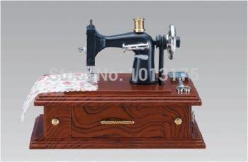 Старинные мини швейные машины шкатулка музыкальная шкатулка сарториус модель музыкальные игрушки новый день рождения свадебные подарки