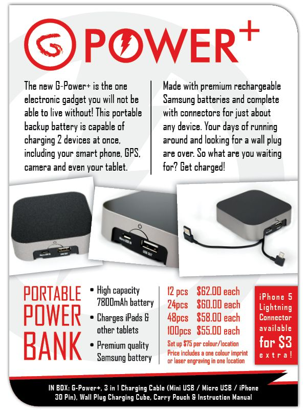 With Great Power Comes Great Chargeability!