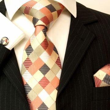 Paul Malone Designer Silk Tie  Set