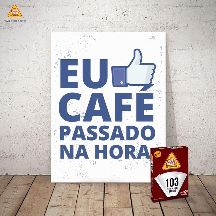 COMO MANTER O SABOR E O AROMA DO PURO CAFÉ OURO NEGRO?  Os novos filtros de papel OURO NEGRO foram produzidos com moderna tecnologia permitindo que o pó fique em contato com a água o tempo ideal para manter o café quentinho, sem perder o sabor e o aroma original do puro café. ;)  👉 http://cafeouronegro.com.br/vivabemefeliz  #café #caféouronegro #vivabemefeliz