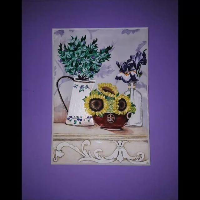 #art #pain #painting #flowers #kvet #kvety  #acrylics #acryl #colors #color #krasa #nice  #love #smile #fantázia #fantasy #obrazok  #musicmyheart #vintage #video #movie #movies #danoheriban  #music