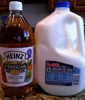 buttermilk: 1 cup milk to 1 T vinegar or lemon juice, stir and let stand 10 minApple Cider Vinegar, Buttermilk Pancakes, Apples Cider Vinegar, Dairy Free, Cups Milk, Homemade, Definition Saving, Frugal Friday, Lemon Juice