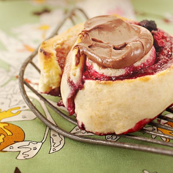 Don't scroll past this one! Mix up a storm with this Choc Mixed Berry Scroll Recipe.