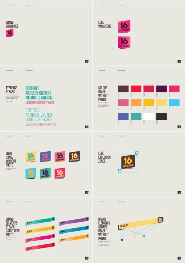 MTV 16 and Pregnant Brand Guide || style guide || brand board