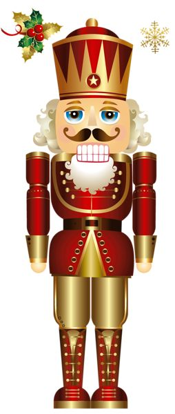 CHRISTMAS NUTCRACKER CLIP ART