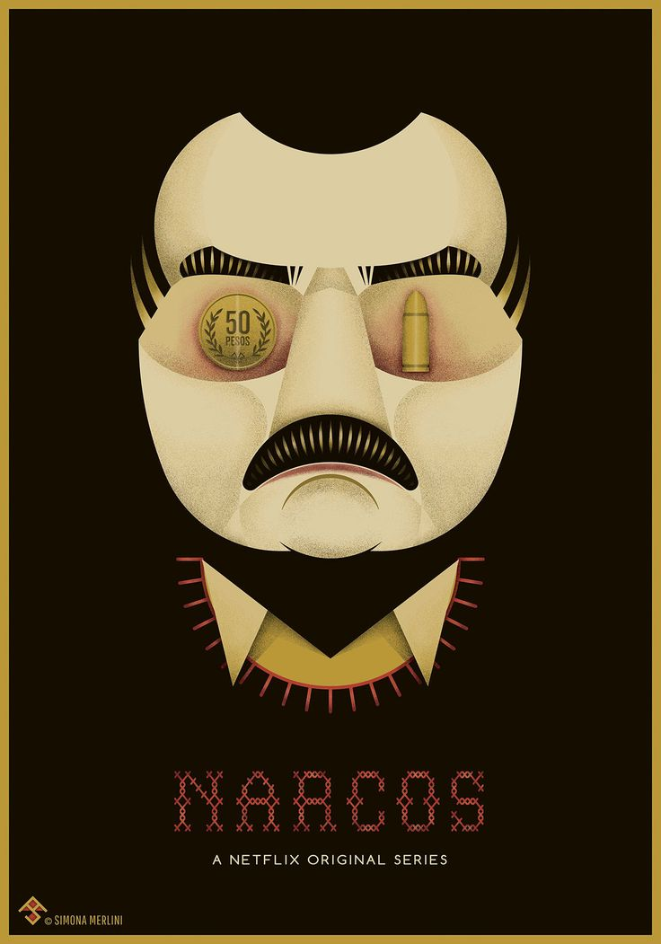 Tribute Poster for the original Netflix series NARCOS