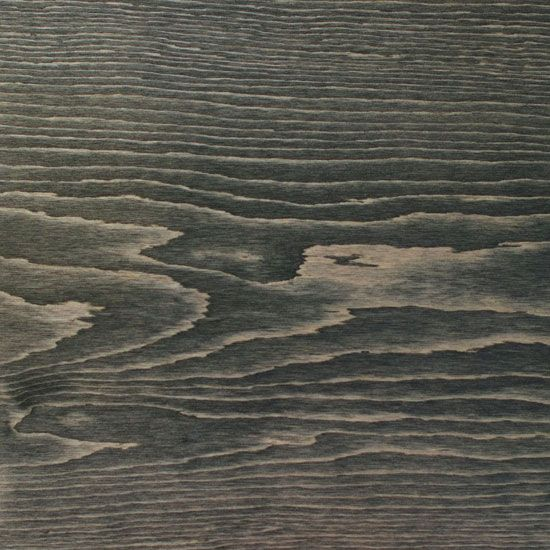Ebony stained pine