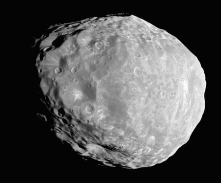 Janus - an inner satellite of Saturn. It is also known as Saturn X. It is named after the mythological Janus.