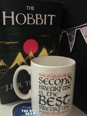 """""""Second breakfast is the best breakfast"""" want that mug lol"""