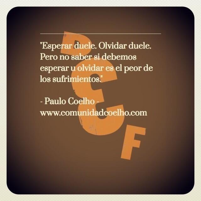 La #Espera, el #Olvido y el #Sufrimiento - @Paulo Fernandes Fernandes Coelho - www.instagram.com/comunidadcoelho | www.comunidadcoelho.com