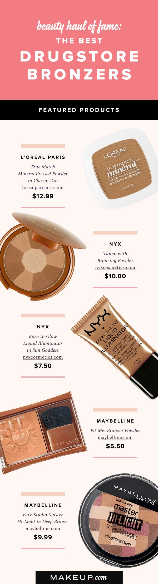 Summer is the season for bronzer! Many bronzers command big bucks, but our roundup is perfect for getting a beachy glow on a budget. These are our favorite affordable drugstore bronzers.