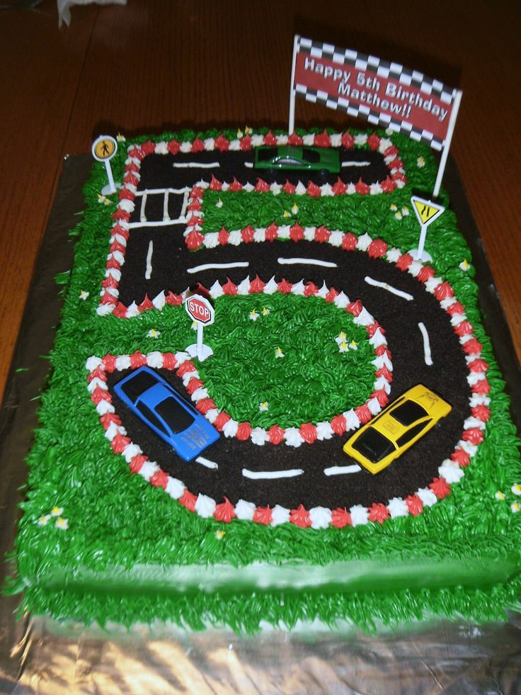 Car Racing Cakes Cake Ideas And Designs
