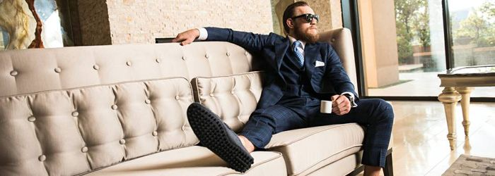 The Suits of Conor McGregor | Tailor On Ten