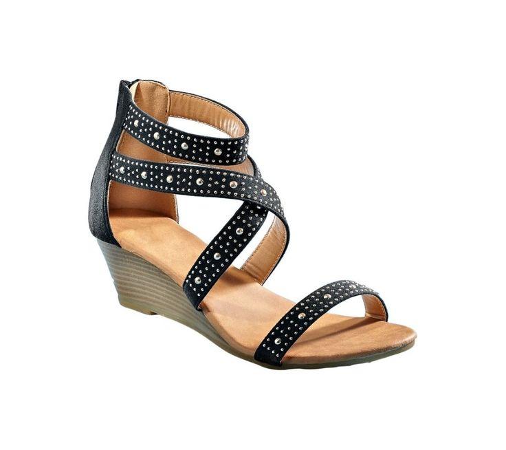 Sandále s cvočkami | blancheporte.sk #blancheporte #blancheporteSK #blancheporte_sk #sandals #shoes #topanky
