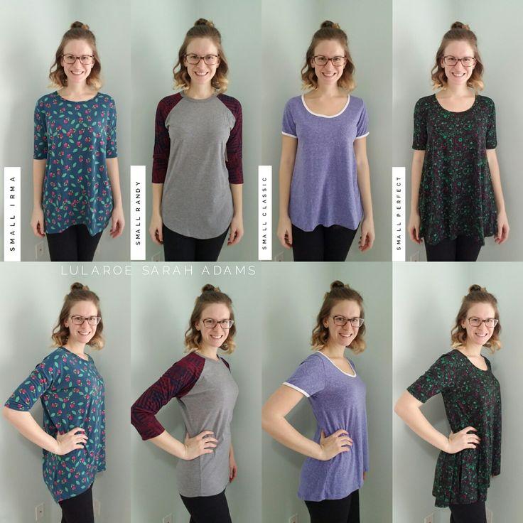 LuLaRoe Shirt Comparison: Irma, Randy, Classic T & Perfect T | www.shopallthelula.com
