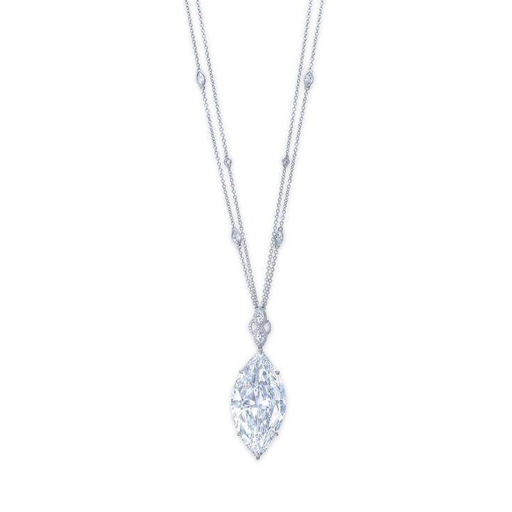 10 best marquis designs images on pinterest diamond necklaces a magnificent diamond pendant necklace christiesjewels audiocablefo