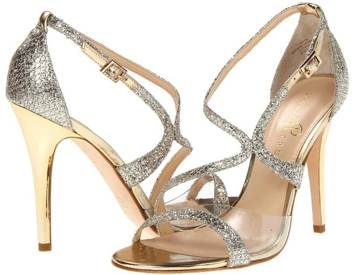 Ivanka Trump Itadara 2 (Gold/Silver Fabric) - Footwear on shopstyle.com