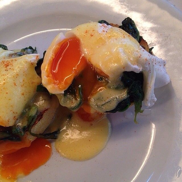 Eggs Florentine, by Laura Anne Norton