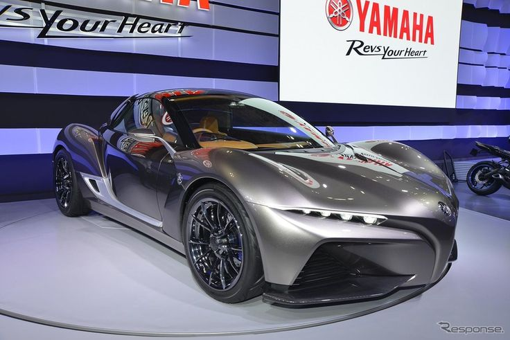 Yamaha R Car Is A Design Study For A Supercar With A Superbike