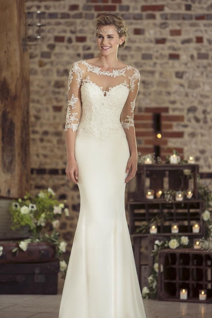 Contemporary Wedding Dresses and Vintage Inspired Bridal Gowns | W237 | True Bride