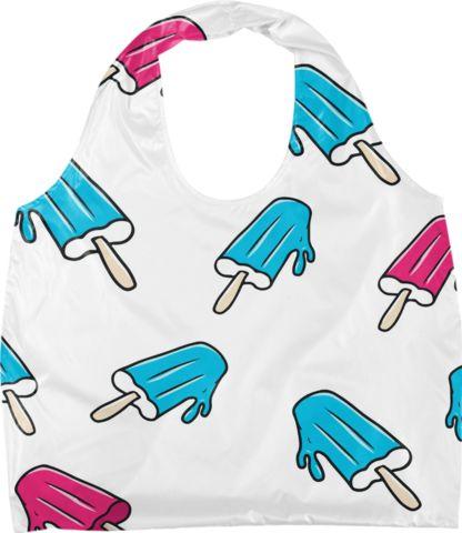 Pasikle Eco Bag (pink & blue)