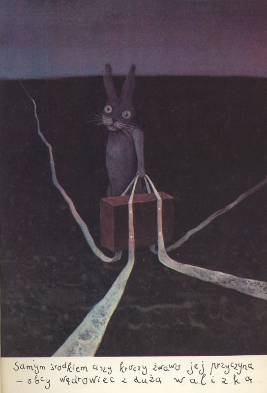 Z Powrotem : czyli Fatalne skutki niewłaściwych lektur (1984) by Zbigniew Batko  Illustration by Stasys Eidrigevičius