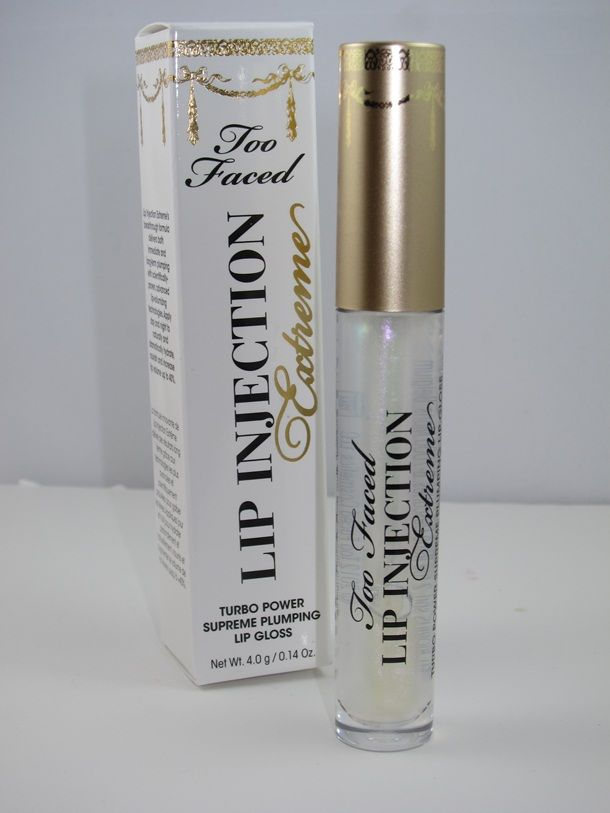 Too Faced Lip Injection Extreme (this is seriously the best stuff!!, really does plump your lips) NEED more lol