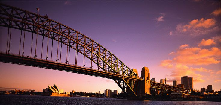 Sydney Harbor Bridge & Sydney Opera House http://www.tangerinetravel.com  #tangerinetravel #dreamvacation