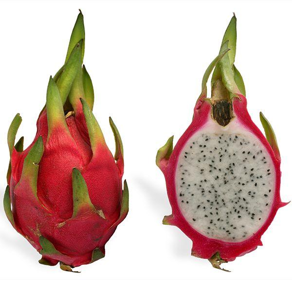 Pitaya-Ejderha Meyvesi Kokusu güzel, tadı kiviyi andıran meyve bir kaktüs bitkisidir. Güney Amerika'da yetişenlerinin tadı diğer sıcak iklimli bölgelerde yetişenlere göre biraz daha ekşidir.