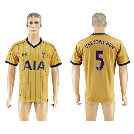 Tottenham Hotspurs 16-17 #Vertonghen 5 3 trøje Kort ærmer,208,58KR,shirtshopservice@gmail.com