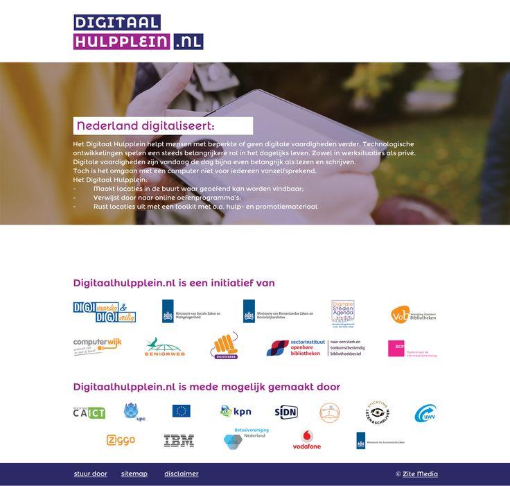 De Bibliotheek Rijssen-Holten helpt mensen met beperkte of geen digitale vaardigheden verder www.digitaalhulpplein.nl