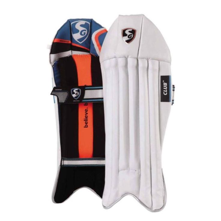 New Genuine Sg Wicket Keeping Pads Leg Guards/Sg Club Cricket Wicket Leg Guards