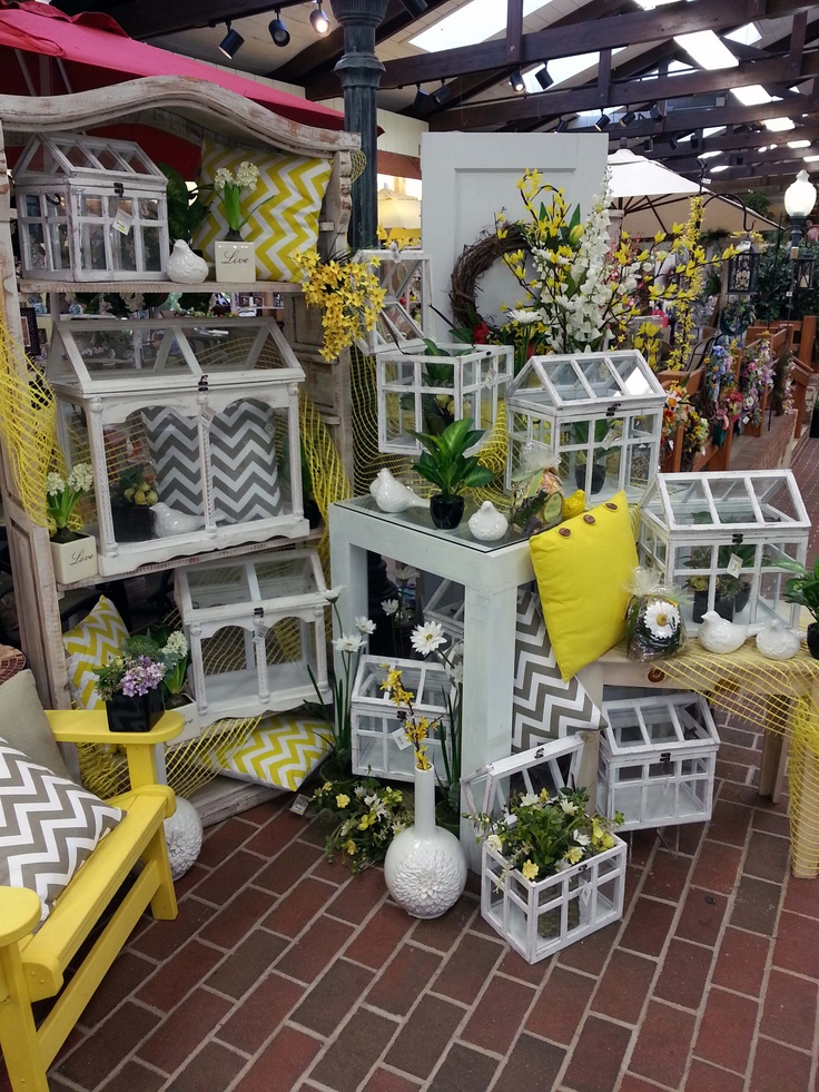 White #Rustic glass containers are perfect for Fairy Gardening and terrariums. Available at Stauffers of Kissel Hill Garden Center. For locations visit www.skh.com