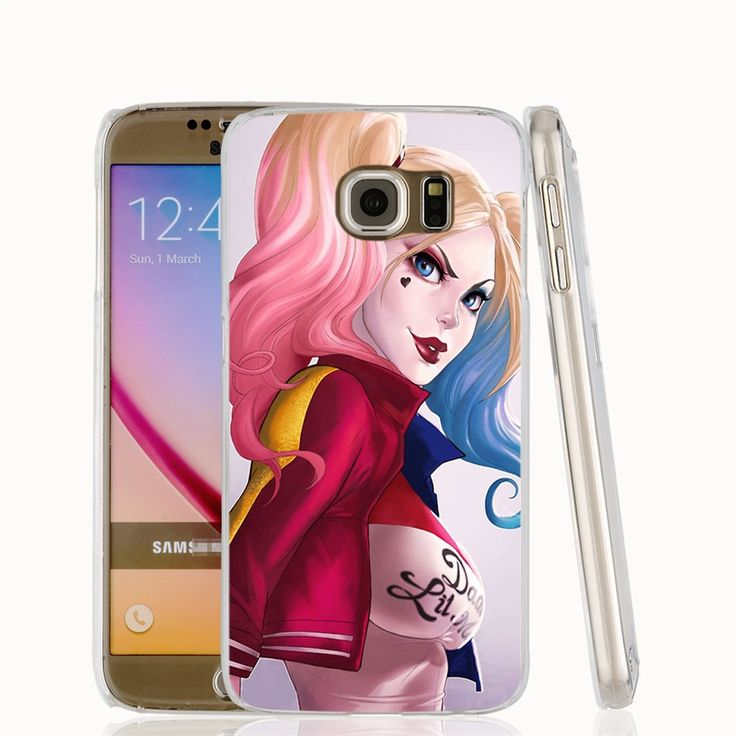 00913 harley quinn cell phone case cover for Samsung Galaxy S7 edge PLUS S6 S5 S4 S3 MINI