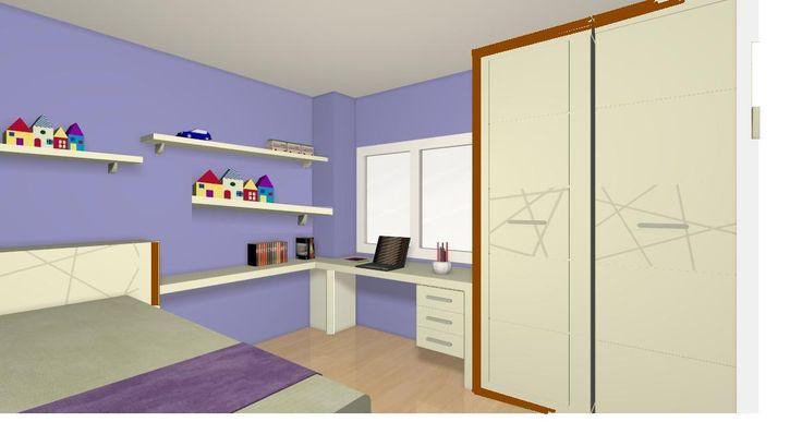 Diseño para dormitorio niños