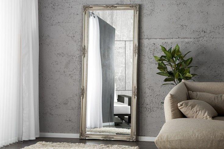 Grosser Barock Spiegel Renaissance Silber 185x75cm Wandspiegel Barock Spiegel Online Mobel Wandspiegel