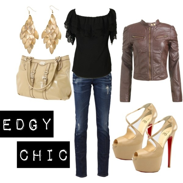 Edgy Chic, my everyday look