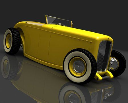 Old Yeller, Roadster - hot rods, auto, cars, custom rides