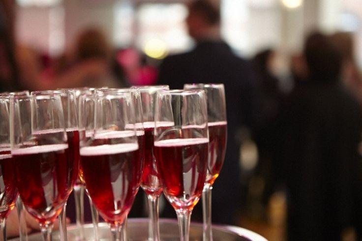 pink champagne - elle cuisine weddings